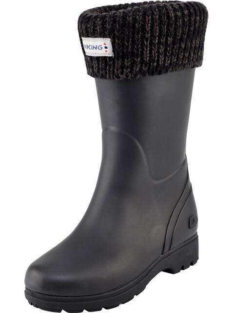 Viking Footwear Mira Warm - Bottes en caoutchouc Enfant - noir